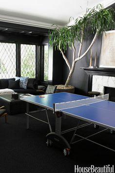 Game Room - HouseBeautiful.com