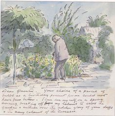 A letter from childrens book author,Edward Ardizzone