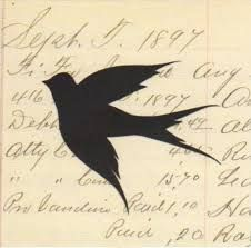 Image result for swallow silhouette