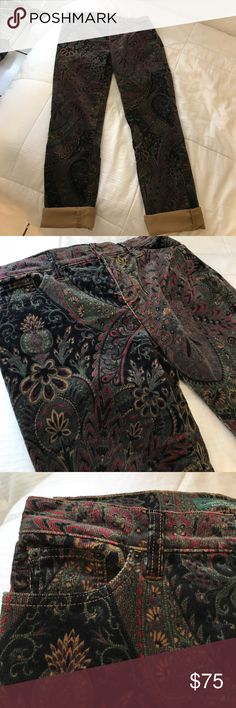 Vintage Ralph Lauren Corduroy Pants Extremely sick vintage floral like design corduroys by Ralph Lauren. Super super sick pants. Insane. Great piece to add to your collection. Fit nicely and are in amazing condition. Unisex. Lauren Ralph Lauren Pants