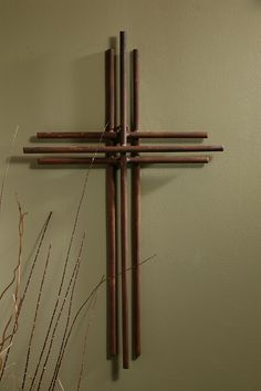 Three layers of Iron make up this gorgeously simple wall cross. A beautiful compliment to both modern and traditonal decor. Hang it anywhere in your home as a testimony to your faith in Christ. - May