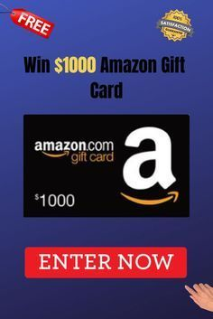 Amazon Gift Card Giveaway Get Free Amazon Gift Card In 2020 With Images Amazon Gift Card Free Amazon Gift Cards