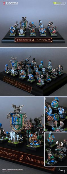 Guldursons Hammerers - Dwarf regiment - Hussar 2015 finalist