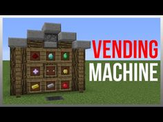 Minecraft 1.9: Redstone Tutorial - Vending Machine V2 (60fps) - YouTube