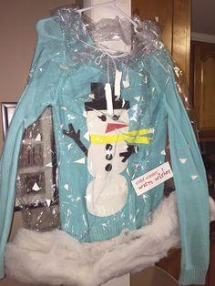 #uglychristmassweater =snowglobe