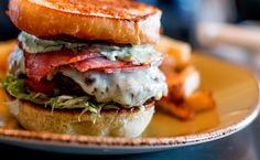 Cubano Burger @ Casey's Grill Bar