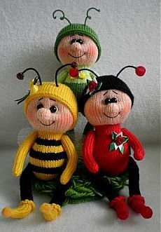 Knitted headdresses or club on Nagumanova Free Knitting Patterns Uk, Knitted Doll Patterns, Animal Knitting Patterns, Knitted Dolls, Amigurumi Patterns, Crochet Dolls, Crochet Patterns, Crochet Fairy, Confection Au Crochet
