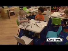 Lifetime 80544 Children's Folding Table and Stacking Chairs Lifetime Tables, Stacking Chairs, Activities