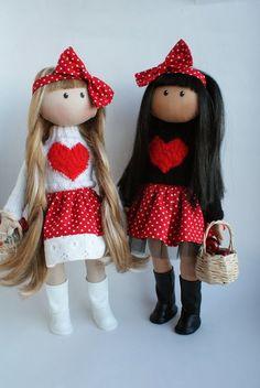 Hanifi handmade: Новогодние двойняшки.