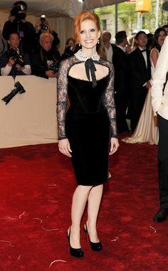 Jessica Chastain  Design: Emilio Pucci