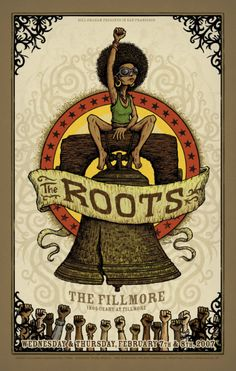 The Roots Fillmore Poster