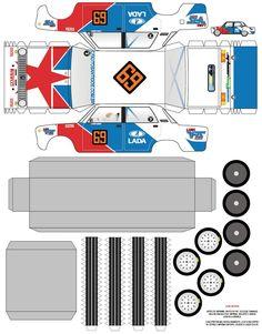 De papel | Blog do Flavio Gomes | F1, Automobilismo e Esporte em geral | Página 2 Paper Model Car, Paper Car, Paper Models, Paper Toys, Paper Crafts, Auto Jeep, Harley Davidson V Rod, Autos Ford, Carros Toyota