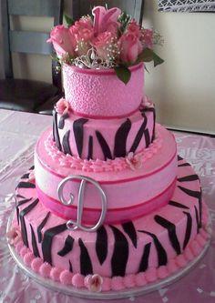Daughters Sweet Sixteen Cake