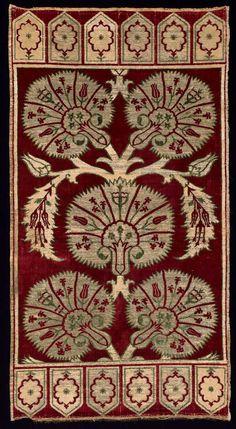 Pillow cover (yastik)      Turkish, Ottoman, 17th century       Turkey