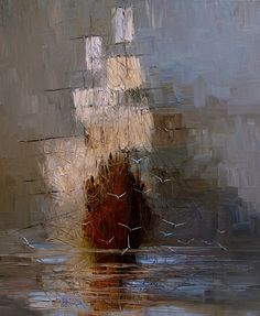 "Saatchi Online Artist: Justyna Kopania; Oil, 2011, Painting ""Nostalgia"""