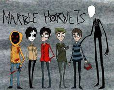 Marble Hornets Tim Burton style