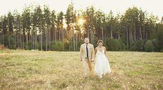 Alyssa and Jorel   Fun, Creative DIY barn wedding from Borrowed and Blue