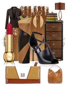 """Bored Meeting"" by varnese ❤ liked on Polyvore featuring beauty, J.TOMSON, FAUSTO PUGLISI, Jimmy Choo, Nannini, Mahnaz Ispahani, Clinique, Egon von Furstenberg, Ben-Amun and Lana"