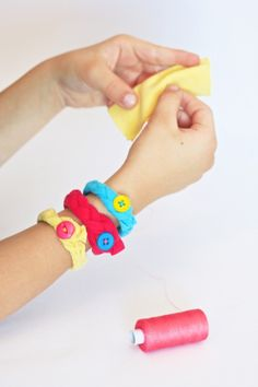 Simple Sewing Project for Kids OneCharmingParty.com #sewingparty