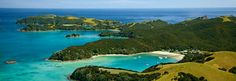 Bay of Islands are a coastal paradise just 3 hours' drive north of Auckland