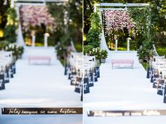 romantic wedding ceremony  fot. Kinga Herok