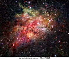 Nebula, stars and galaxy in deep space. Elements of this image furnished by NASA.