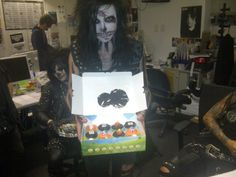 Jake and sneaky Jinxx in the background Black Veil Brides Members, Black Veil Brides Andy, We Are The Fallen, Jake Pitts, Andy Black, Love Band, Motionless In White, Of Mice And Men, Andy Biersack
