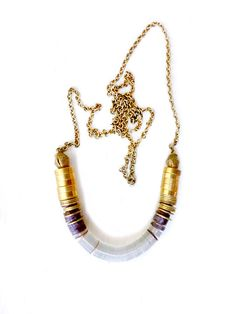 Ombre gold necklace by KimDulaney on Etsy, $41.00