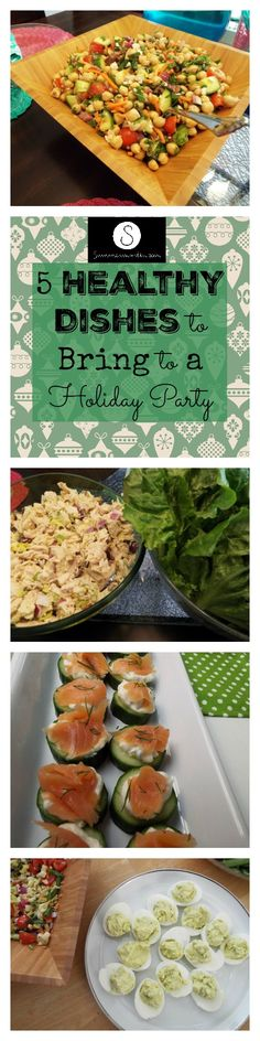 Tired of going to holiday parties and finding nothing that fits your meal plan? Here are some healthy holiday party dishes that everyone will love!
