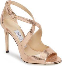 Jimmy Choo Emily metallic sandal