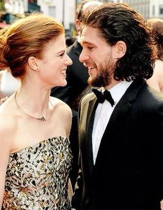 Kit and Rose - Game of Thrones cast Jon Snow and Ygritte