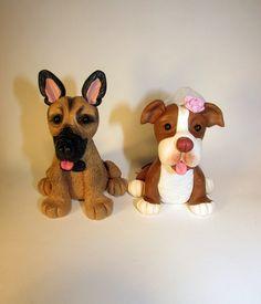 imagens de tutoriais em biscuit de cachorros de raça - Pesquisa Google