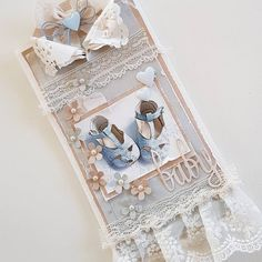"""173 likerklikk, 11 kommentarer – Mette Rønning Buskum (@mettebuskum) på Instagram: """"Kort til en liten prins💙 #babykort #babygutt #mettekort #card #papercraft #homemadecard #blue #diy"""""""