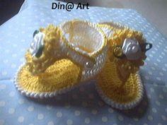 Sandália gladiadora amarela