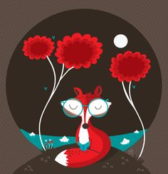 Animales by MJ Da  Luz, via Behance