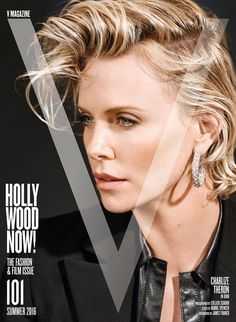 Шарлиз Терон в V Magazine (Интернет-журнал ETODAY)