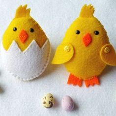 Trendy sewing gifts to make easy Ideas Felt Patterns, Pdf Sewing Patterns, Sewing Tutorials, Sewing Projects, Tutorial Sewing, Sewing Tips, New Crafts, Easter Crafts, Chicken Crafts