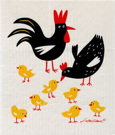 Chickens by Bengt and Lotta