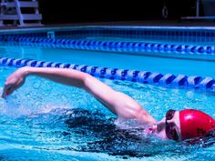 Proper swim technique is all in the head. Use these tips to correct your body posture in the water, and shave minutes off your swim split.