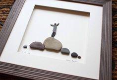 Pebble art.