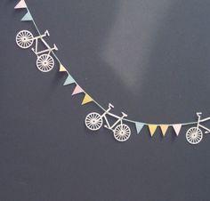 Bicycle Bunting - Hannah Greenwood