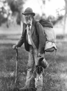 The swag is an iconic part of Australia's history. Originally used by the swaggie or swag man from the late eighteen hundreds and so on through the great depression of the nineteen thirty's, and then after the Second World War as men returned in need of work and purpose. The Swaggie was a person, usually a man that wandered Australia's countryside in search of work.