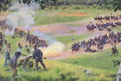 """Minty's Charge at Lovejoy's Station, August 20, 1864""   Steve Noon"