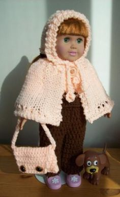 """Life is Just Peachy - 18""""doll - Free Original Patterns - Crochetville"""
