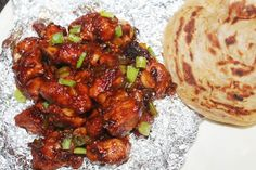 Chicken Manchurian is my all time favourite. I make them quite often and each time they turn out great. I have already shared a versi. Chicken Starter Recipes, Rolled Chicken Recipes, Best Chicken Recipes, Chicken Recepies, Veg Manchurian Dry Recipe, Manchurian Gravy, Indian Food Recipes, Asian Recipes