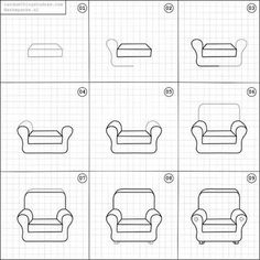563 Best Chair Drawing Images Chair Drawing Chair Drawings
