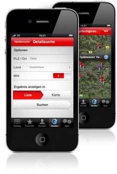 Maerklin iPhone App #Mobile