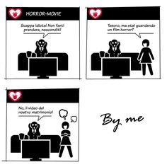 horror movie..