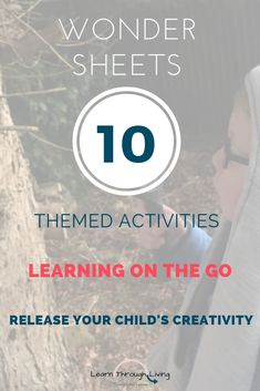 Are you looking for creative and fun activities for your child to do while you're out and about?  In Pack 1 (available now) you'll find these themes, plus many more: - Travel the World - Fruit and Veg - Emotions - Endangered Animals  #learnonthego #homeschool #homeschoollessons #homeschoolonthego #activityfun #thinkoutsidethebox #creativethinking #creativeminds #creativeanswers