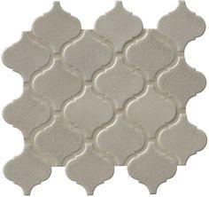 MS International Porcelain Tile - Fog Arabesque 6mm / Pattern / Glossy